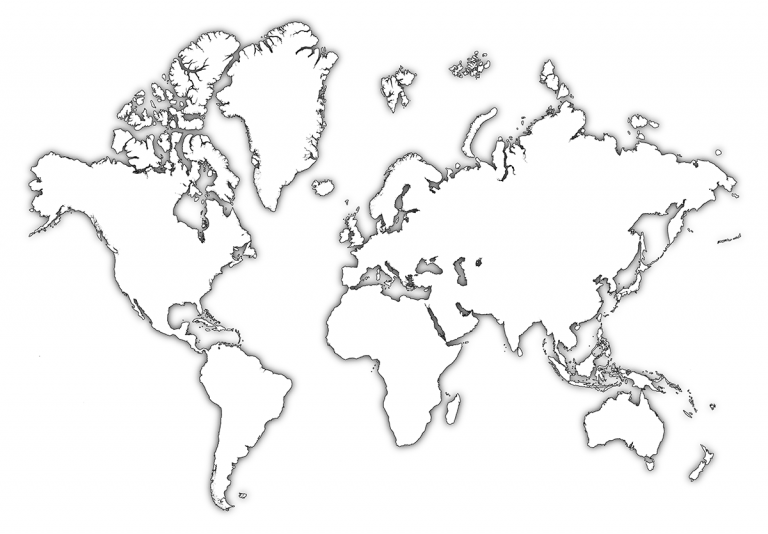World, Drawing, Map, transparent png image & clipart free download