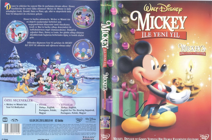 download mickeys once upon a christmas poster clipart mickey mouse donald duck minnie mouse - Mickey Mouse Once Upon A Christmas