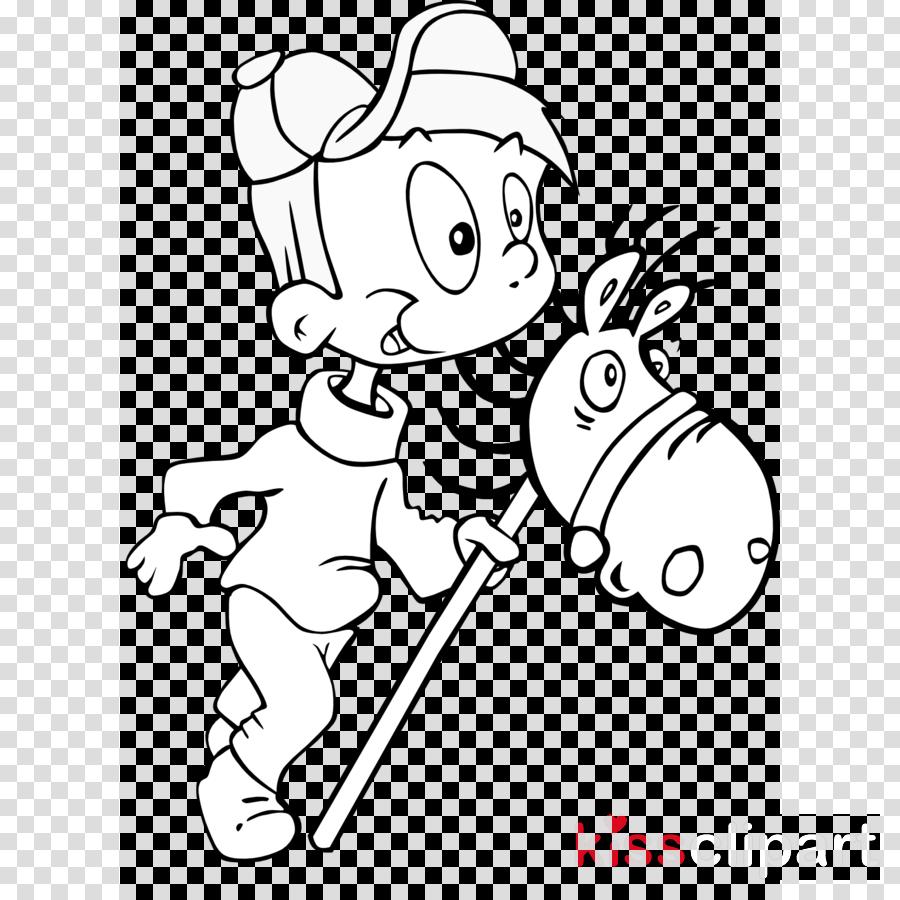 caballito de palo para colorear clipart Drawing Child Clip art