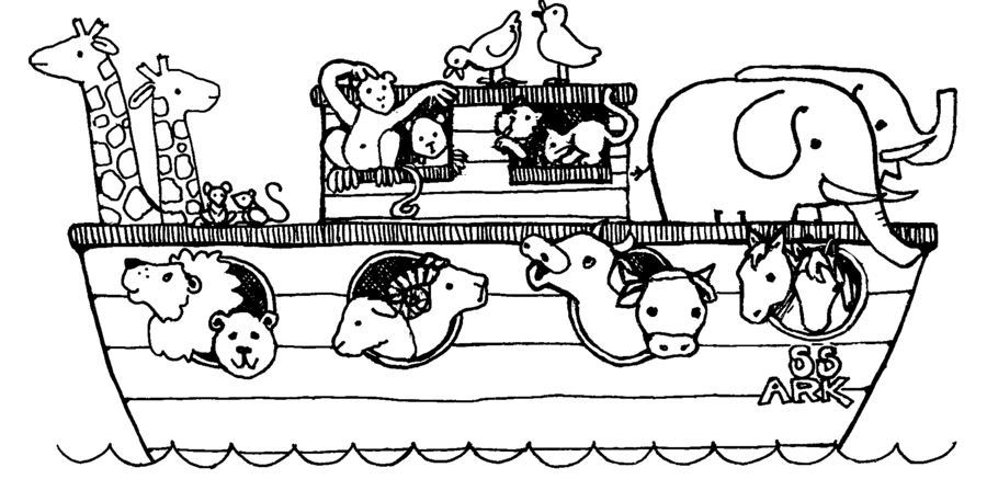 Download noahs ark animals coloring clipart Animals Colouring ...