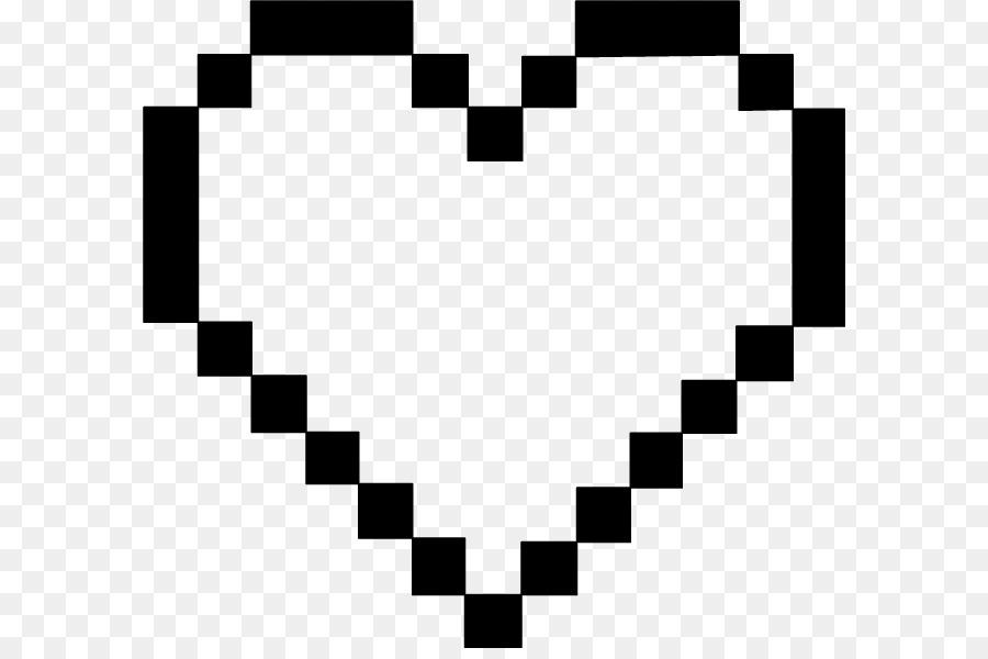 Heart Pixel Art
