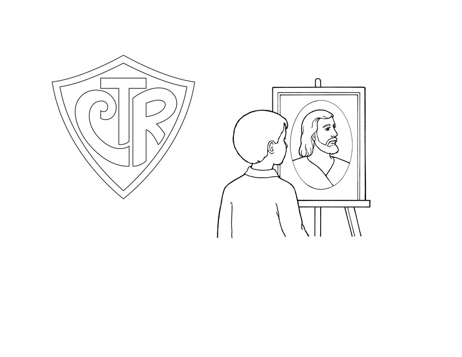 Download Coloring book clipart LDS General Conference Coloring book ...