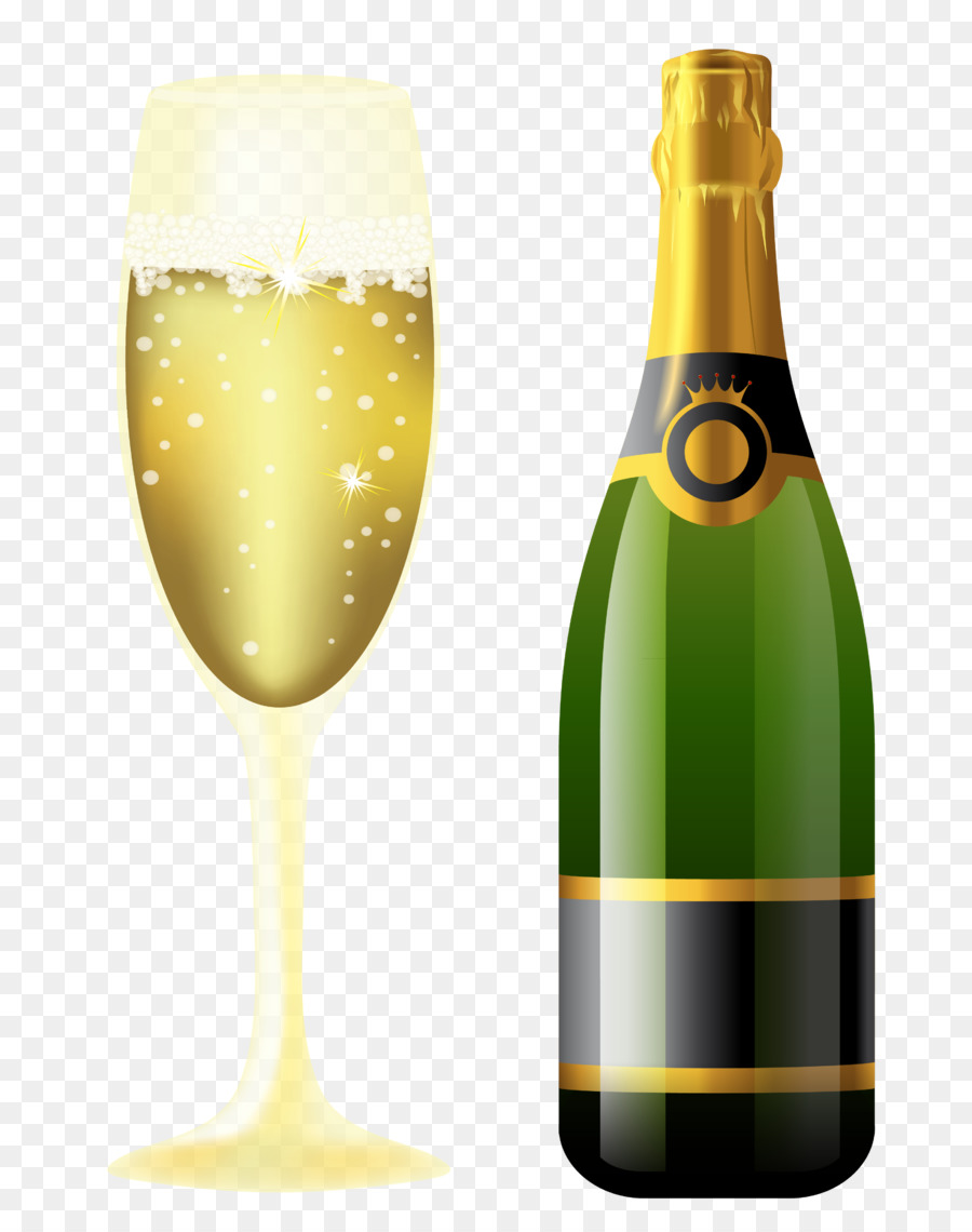 New Year Champagne Glasses
