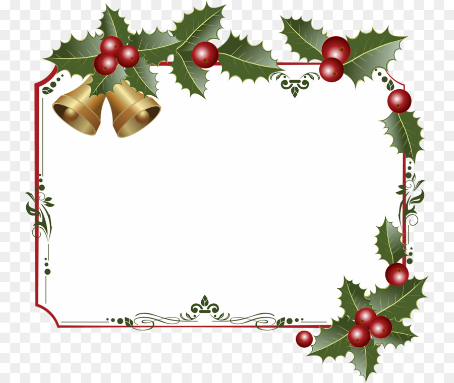 Christmas Border Design.Christmas Border Design Clipart Graphics Christmas Fruit