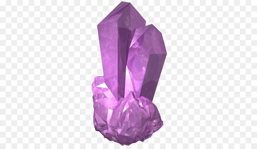 purple crystal clipart Crystal Gemstone Clip art