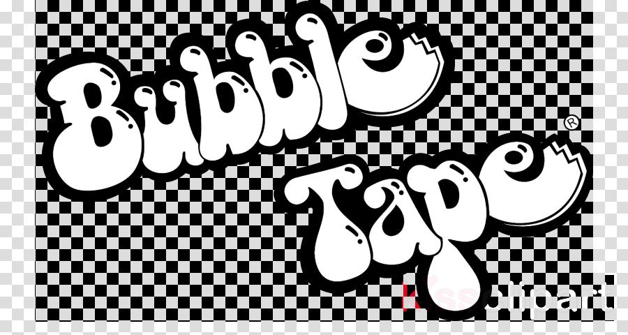 bubble tape logo clipart Logo Chewing gum Bubble Tape