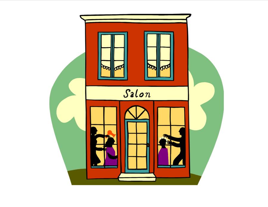 Cartoon Cartoon Clipart Hairdresser Barber Cartoon Transparent Clip Art