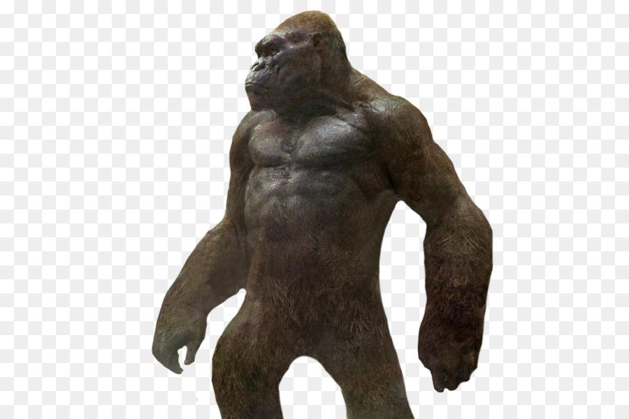 kong skull island 2017 kong full body clipart King Kong Godzilla Clip art