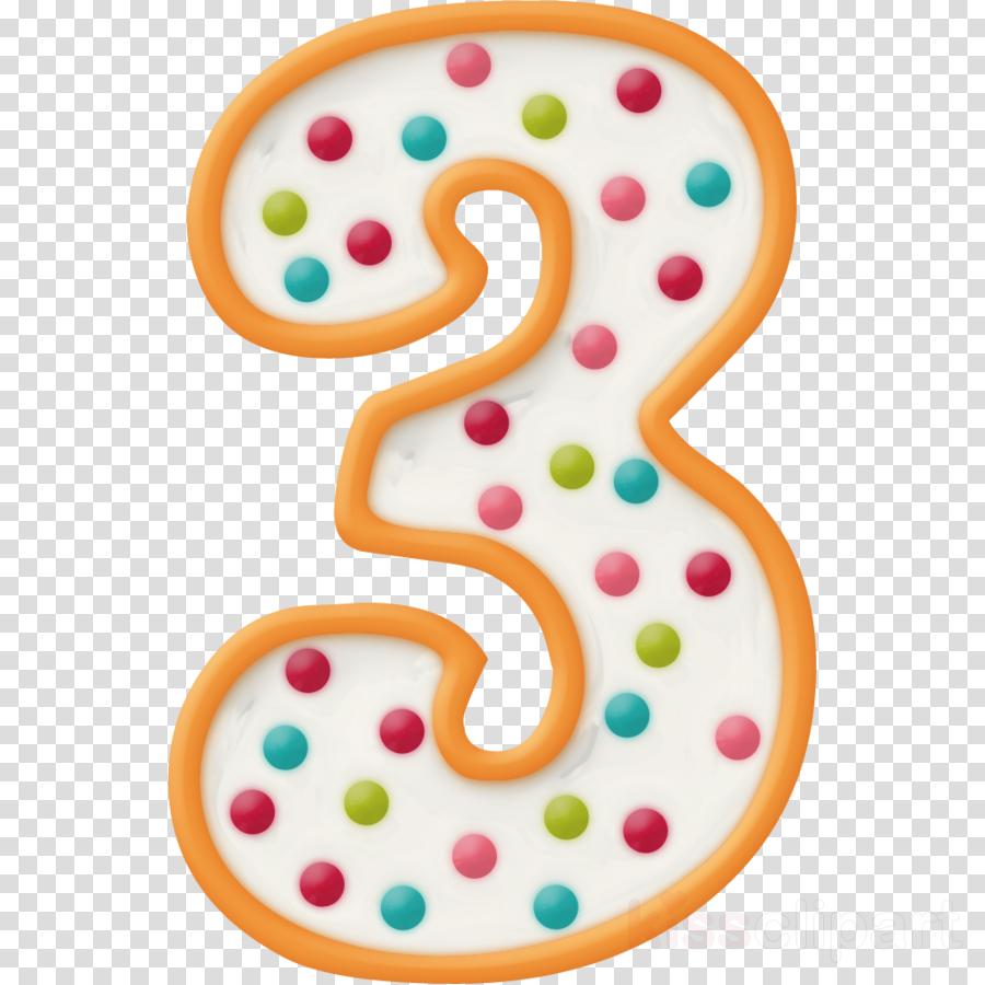 Number 3 Clip Art Clipart Birthday BirthdayCandle
