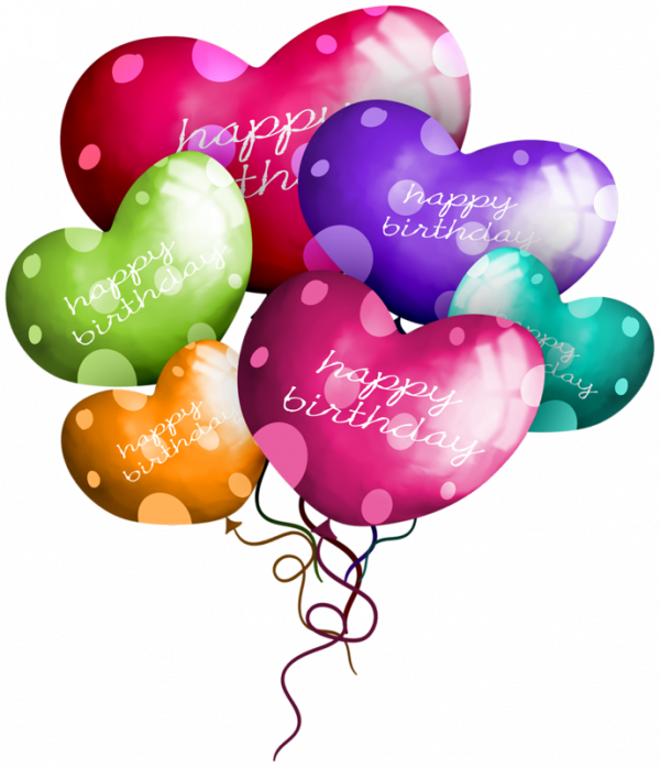 Birthday Balloon Heart Transparent Png Image Clipart Free Download