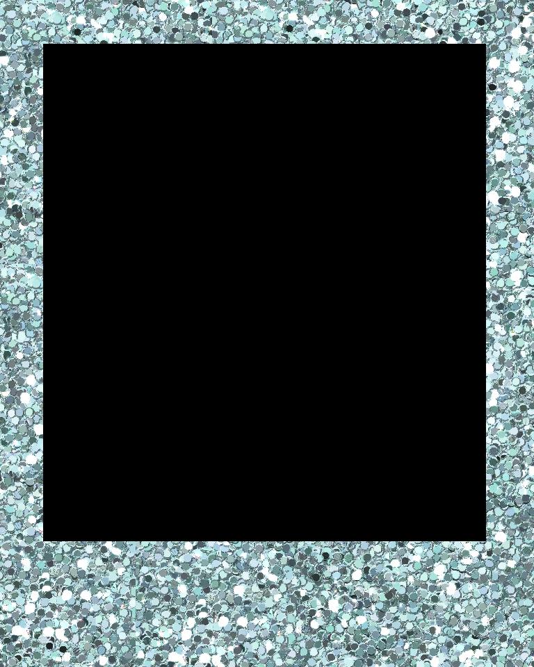 Polaroid blue. Pattern frametransparent png image