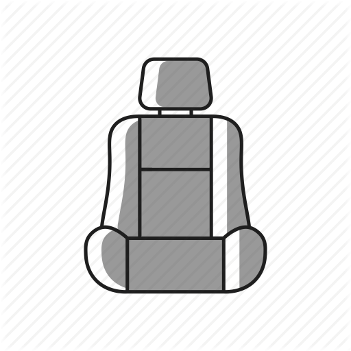Icon Seat Cover Clipart Baby Toddler Car Seats Automotive