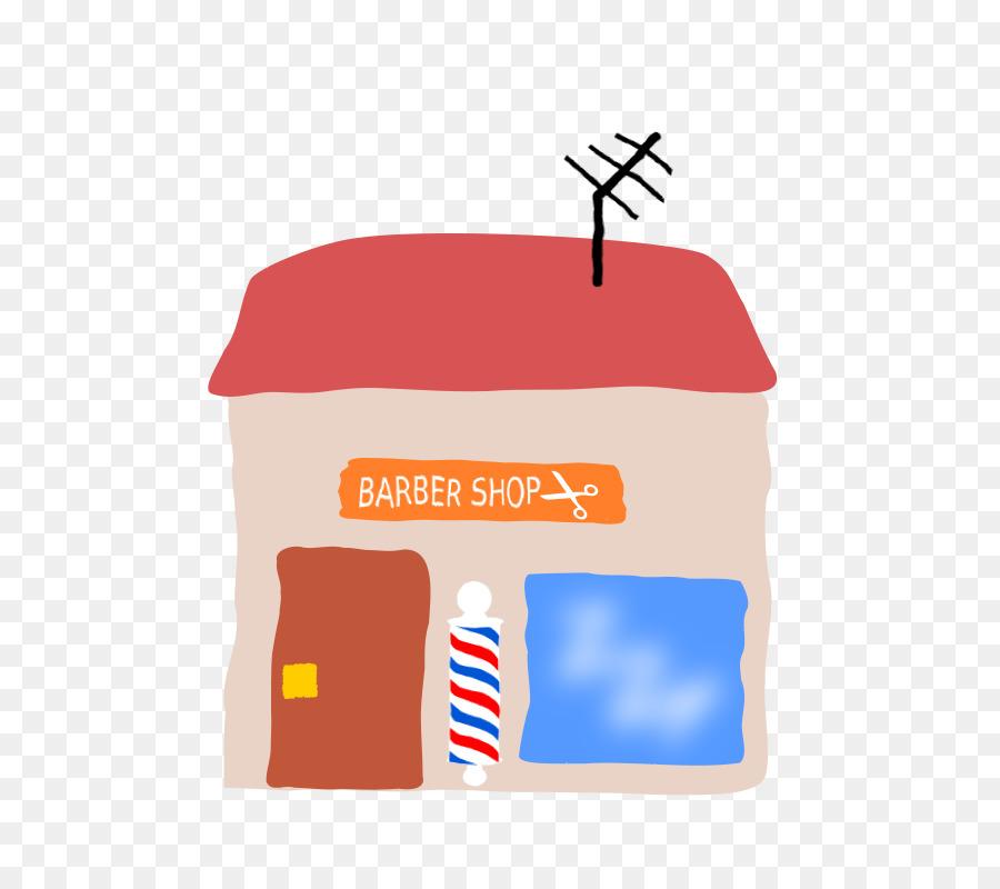 Line Cartoon Clipart Barber Design Drawing Transparent