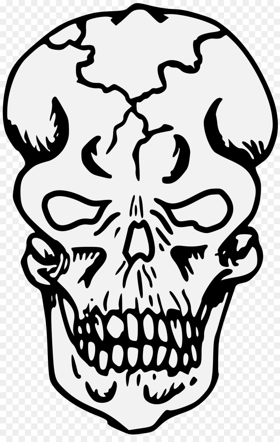 Skull Cartoon