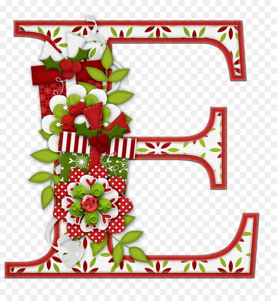 Christmas Letter Border.Christmas Border Design Clipart Alphabet Letter Font
