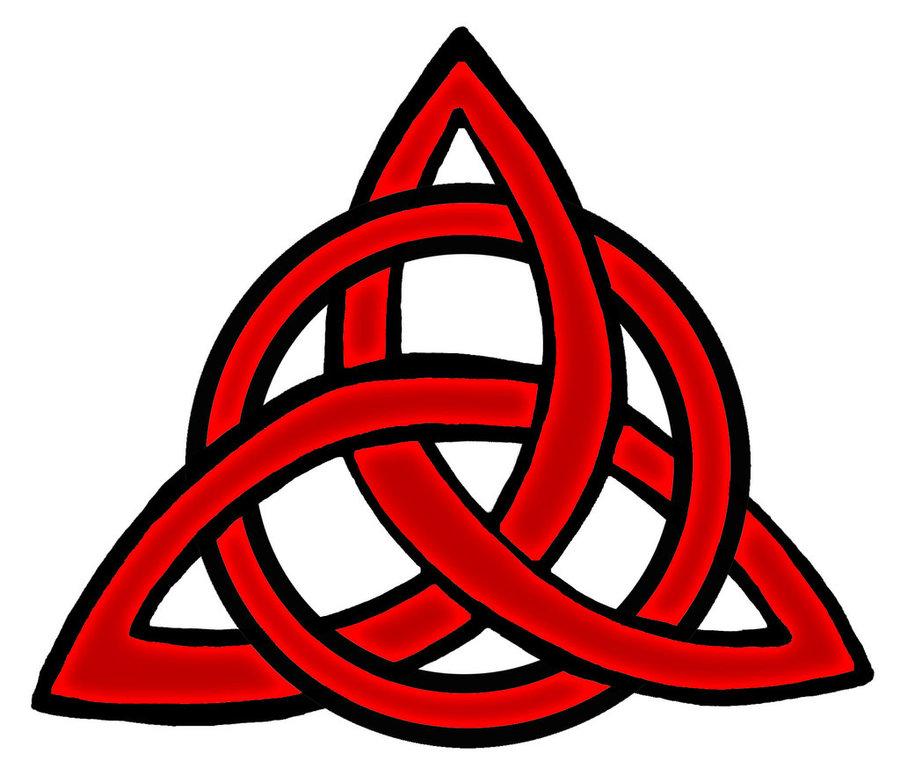 Download Triquetra Tattoo Red Clipart Triquetra Symbol Tattoo
