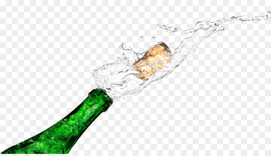 Champagne Bottle Popping Png - Transparent Champagne Bottle Clipart, Png  Download - vhv
