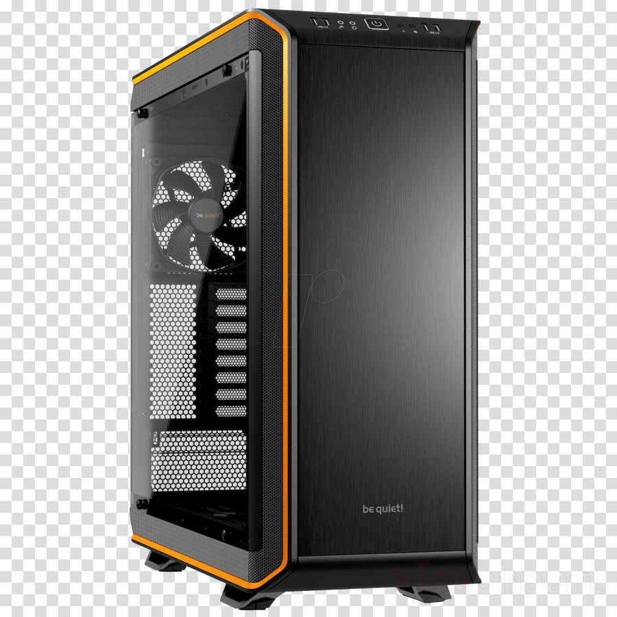 dark base pro 900 black clipart Computer Cases & Housings Midi tower PC casing Game console casing BeQuiet Dark Base Pro 900 Power supply unit