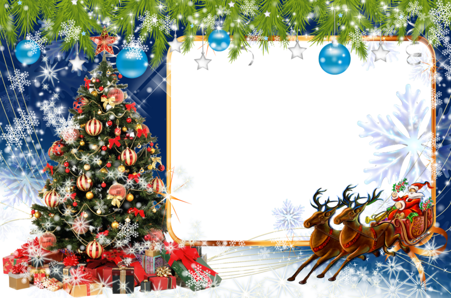 Download download merry christmas jpg frame clipart Christmas Day ...