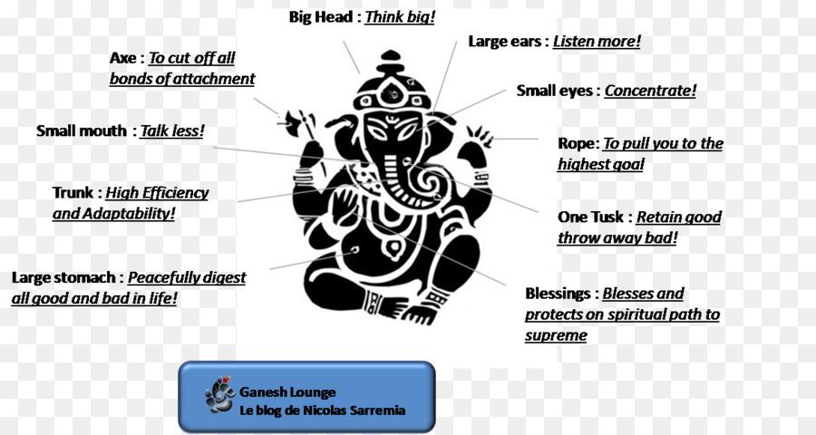 Black And White Ganesh Chaturthi