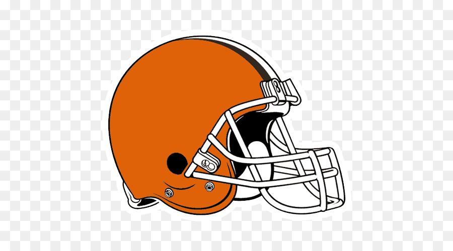 American Football Background Clipart Nfl Cartoon Orange