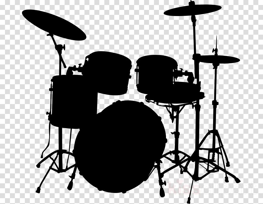 drums silhouette png clipart Drum Kits