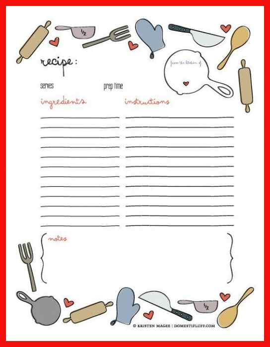 clipart resolution 544 697 recipe book page template clipart