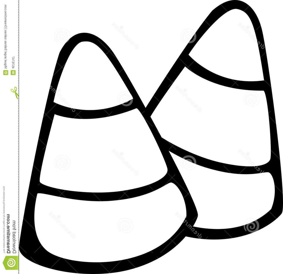 Download candy corn coloring page clipart Candy corn Corn on the cob ...