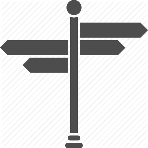 direction post clipart Direction, position, or indication sign