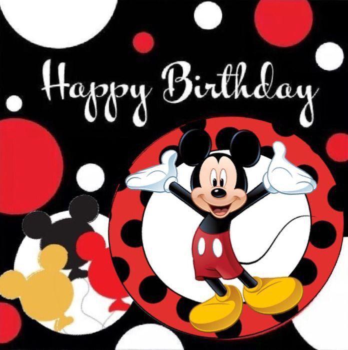mickey birthday meme - 696×701