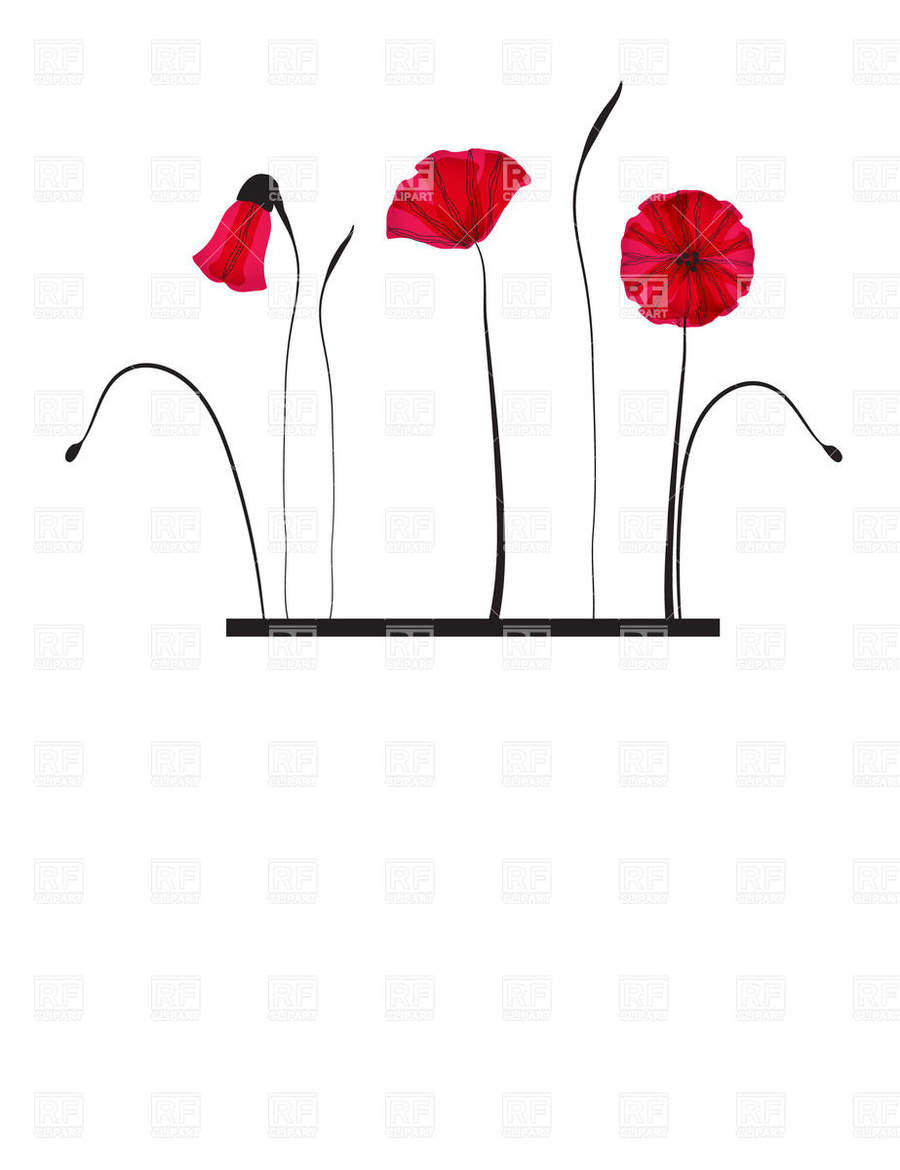 Download Color Clipart Poppy Floral Design Clip Art Poppydrawing