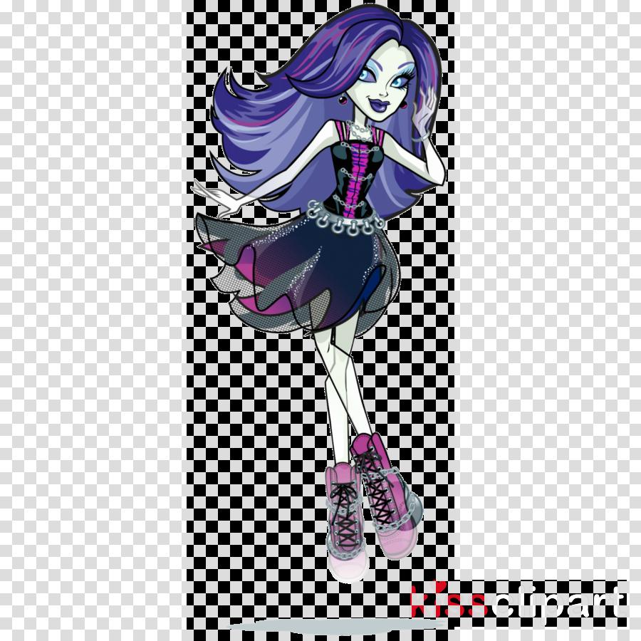 spectra vondergeist artwork clipart Monster High Ghoul Frankie Stein