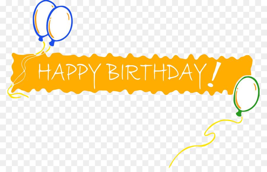 Happy Birthday Banner Clipart Birthday Banner Anniversary