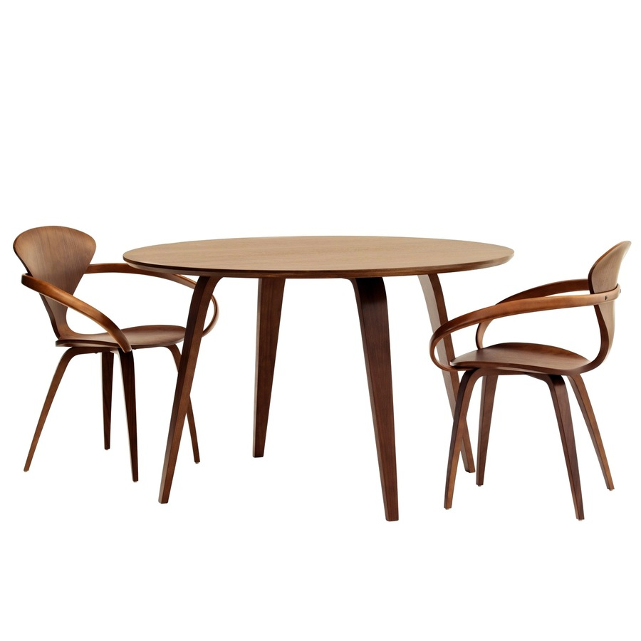 Download Cherner Round Table Clipart Table Dining Room Chair Table - Cherner dining table