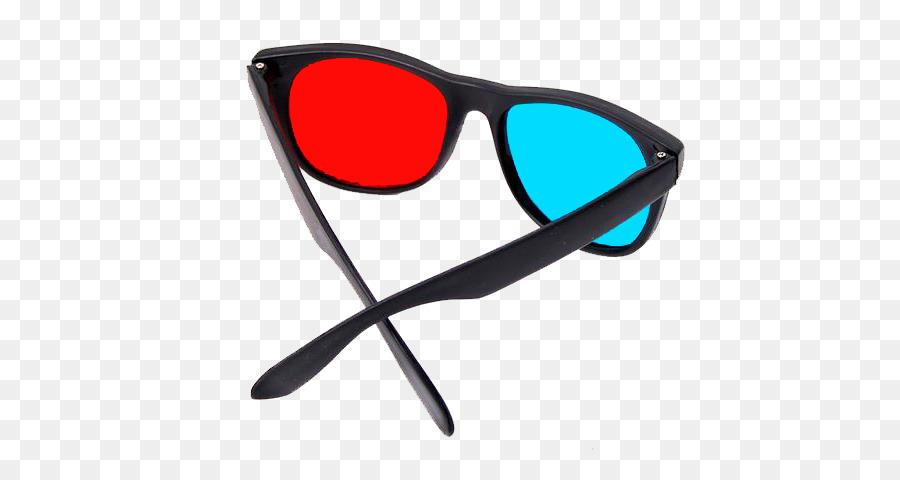 anaglyph 3d glasses clipart Sunglasses 3D film