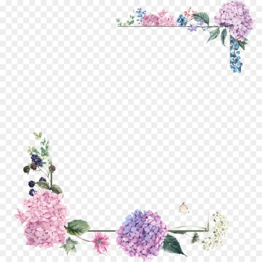 Floral Wedding Invitation Background Clipart Flower Pink