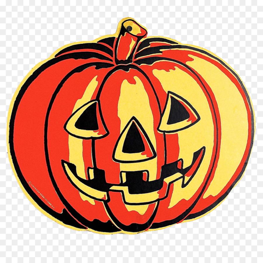 Halloween Vintage Clipart.Halloween Jack O Lantern Clipart Halloween Pumpkin Orange