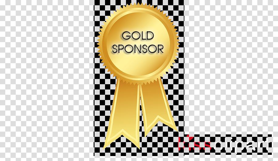 gold ribbon clipart Brand Logo
