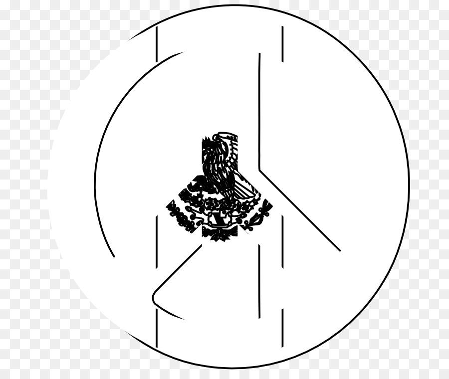 Clock Cartoon Clipart Mexico Flag White Transparent