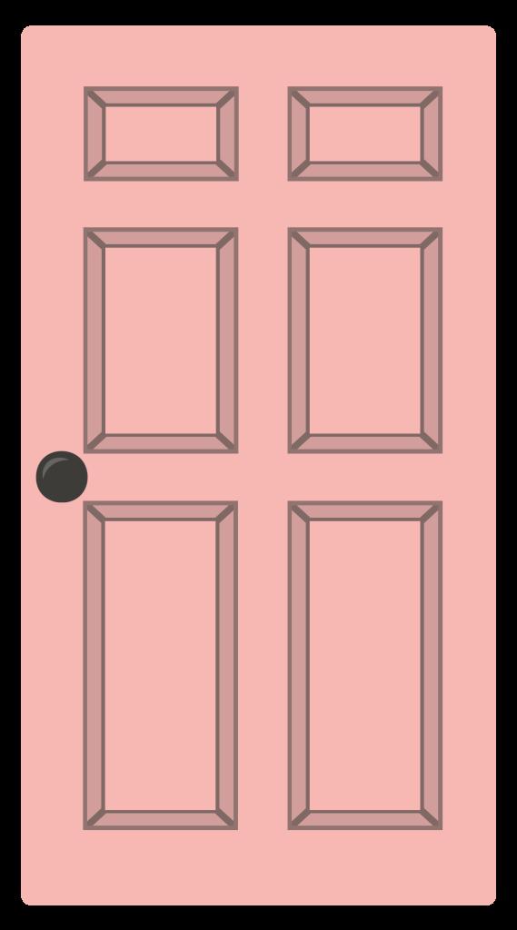 House Cartoon Clipart Window Door House Transparent Clip Art