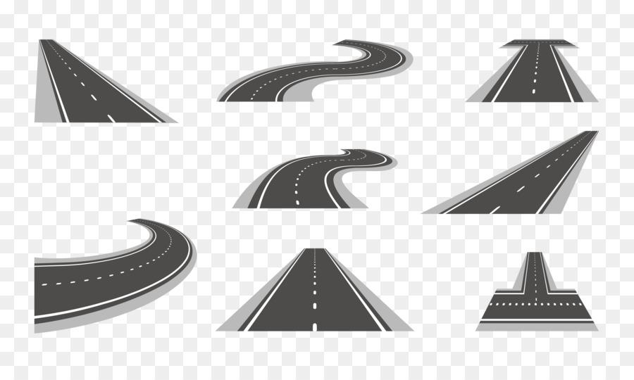 highway vector clipart Road Highway