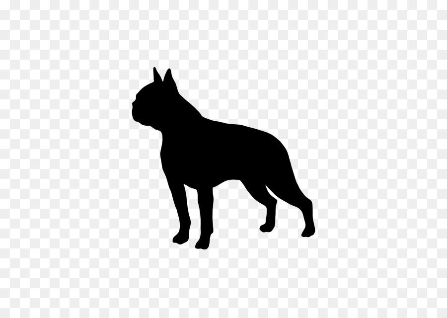 boston terrier silhouette png clipart Boston Terrier French Bulldog