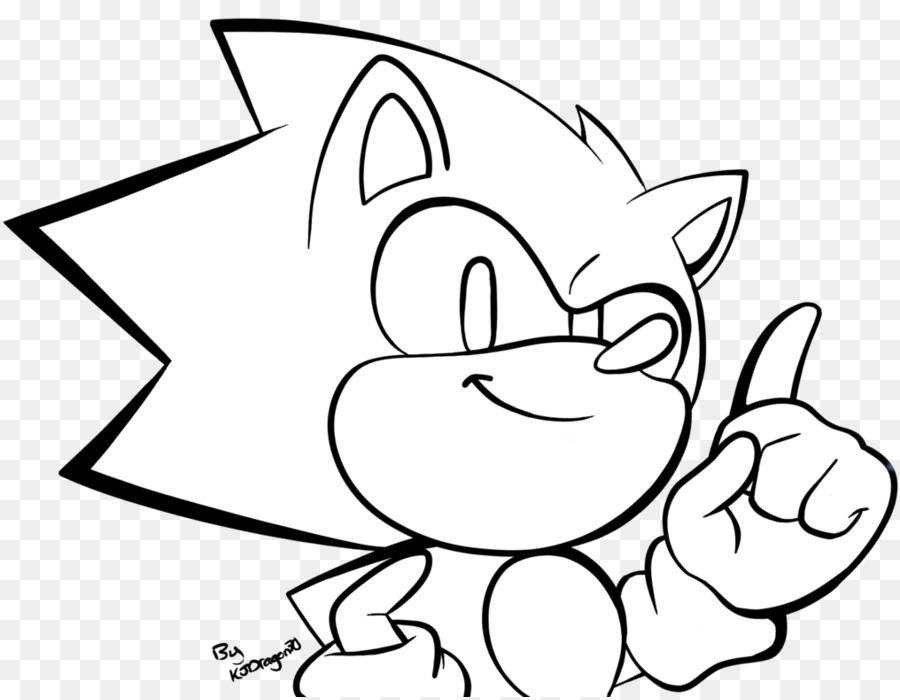 Sonic The Hedgehog Clipart White Cat Black Transparent Clip Art