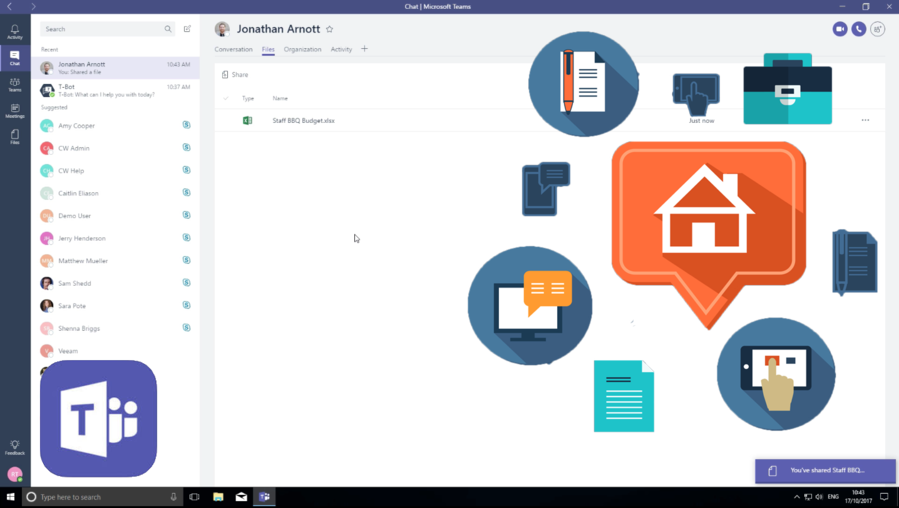 Microsoft Teams Logo Clipart Text Product Technology