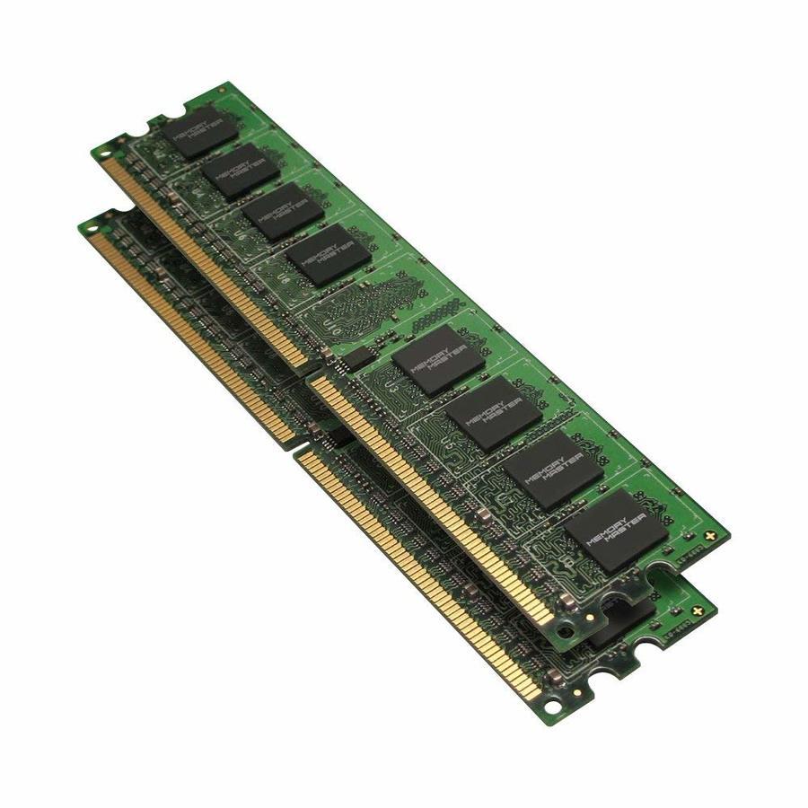 Download Memory Master 4 Gb 2 X 2gb Ddr2 800 Mhz Pc2 6400 Desktop Dimm Modules Mmd4096kd2 Clipart Sdram Computer Laptop