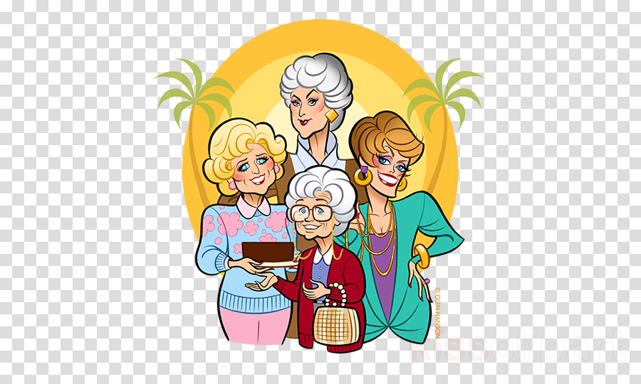 golden girls cartoon clipart Estelle Getty The Golden Girls Sophia Petrillo