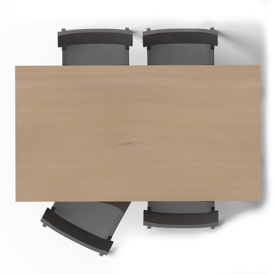 Kitchen Table and Chair Models Kitchen Table Top View Png