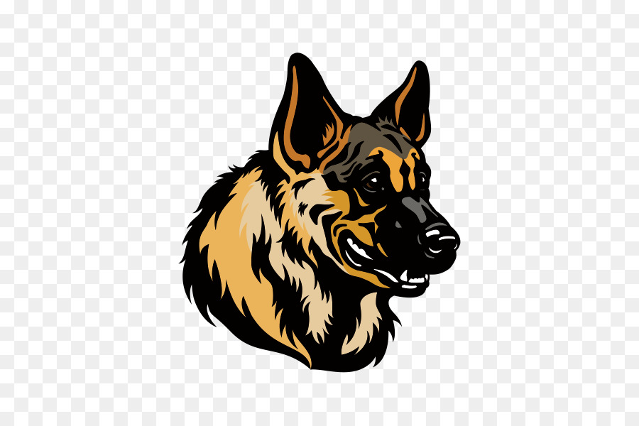 german shepherd head clipart German Shepherd Clip art