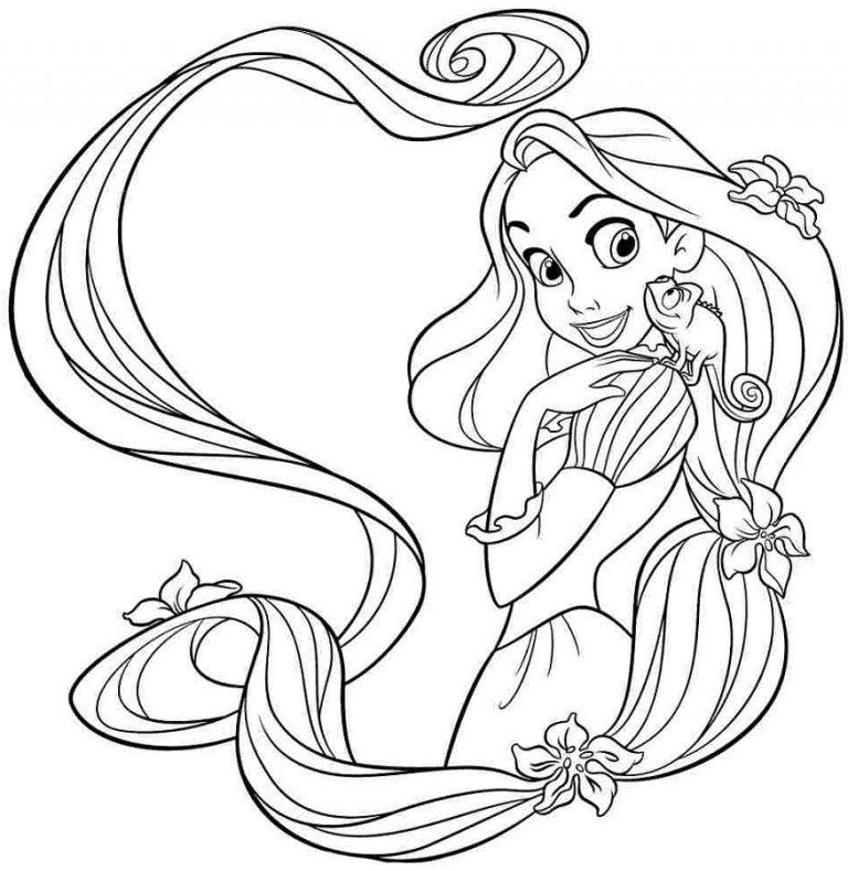 Download enredados rapunzel para colorear clipart Rapunzel Tangled ...