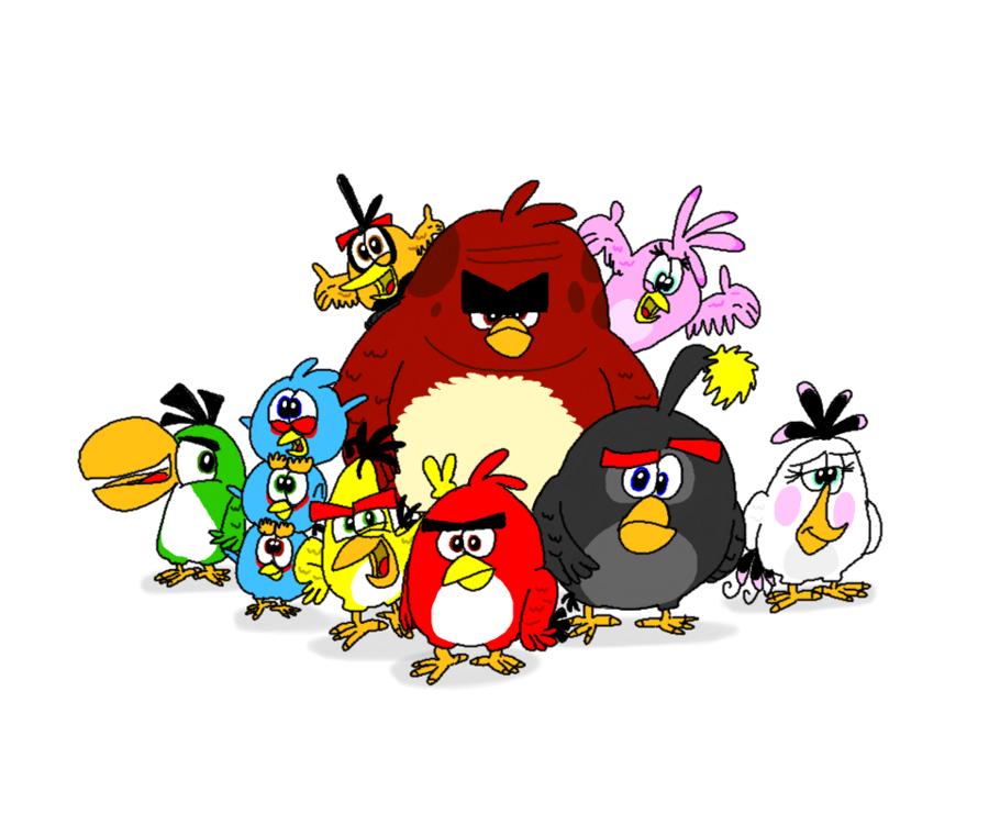 Angry Birds 2 Clipart Drawing Film Bird Transparent Clip Art